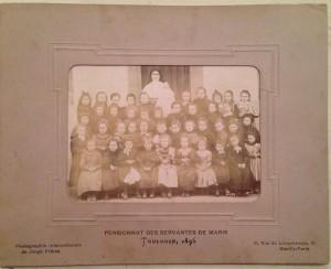Photo de classe 1896
